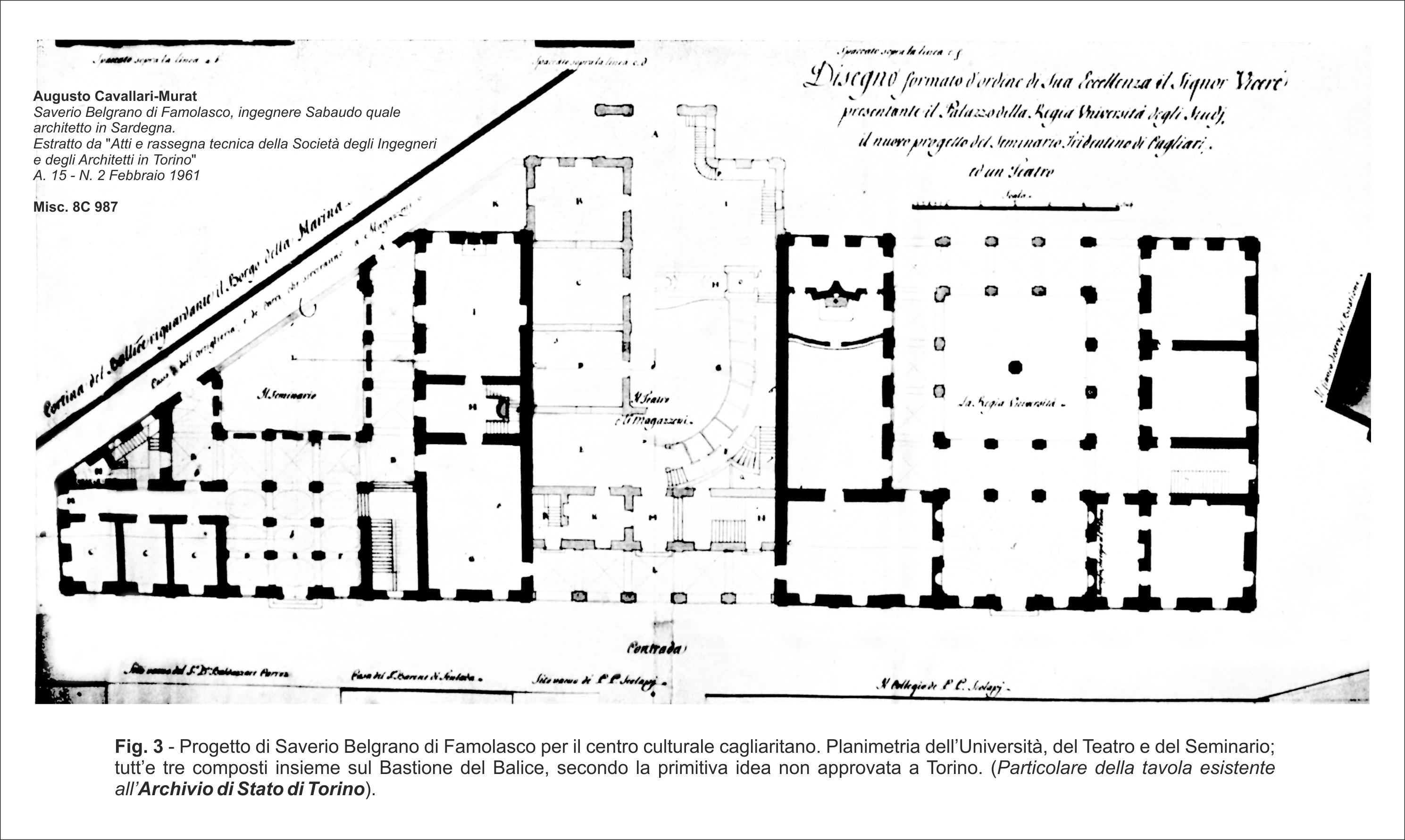 06d70a80064e Storia dell edificio - Biblioteca Universitaria di Cagliari